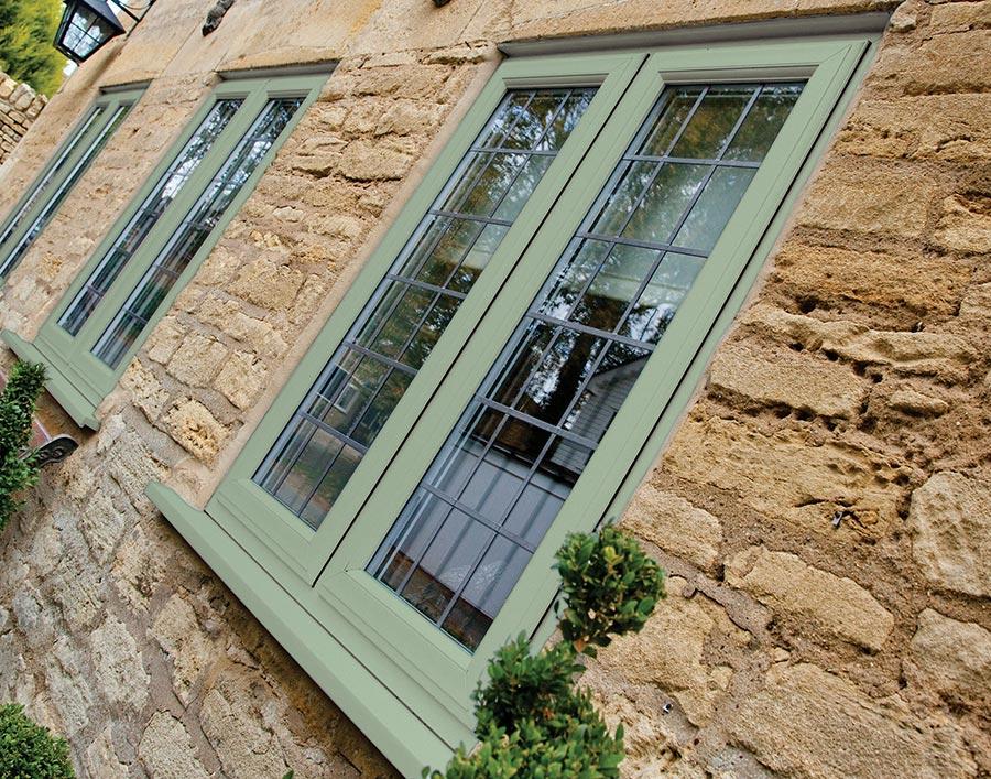 save off adb31 b9744 Chartwell Green UPVC Window - Supply Only Windows and Doors