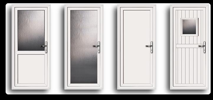 Double Glazed Back Doors