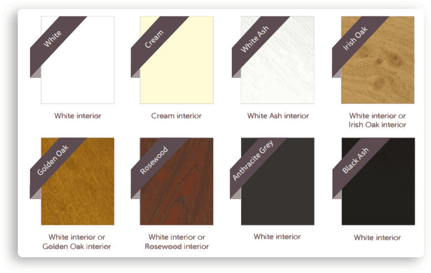 UPVC Window Colours