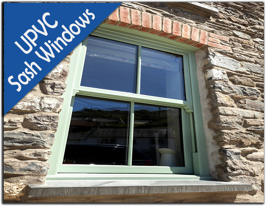 Supply Only UPVC Sash Windows